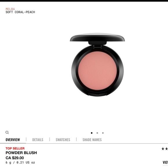 MAC Cosmetics Other - MAC Blush